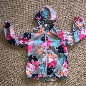 Girls floral gap jacket
